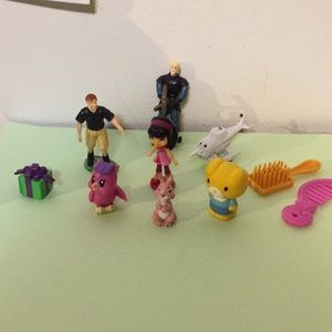 Assortment of miniature toys. As shown in pics